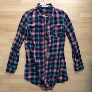 Abercrombie and Fitch flannel dress